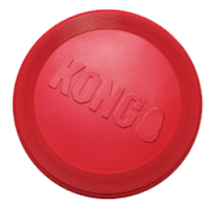 Kong Rubber Flyer Red